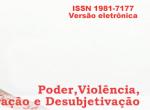 Poder, Violência, Subjetivação e Desubjetivação